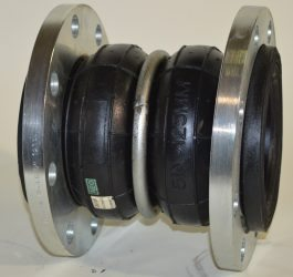 Rubber Expansion Joint - Double Arch with Floating Flange – Style 982