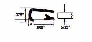 """Grips edges from .085"""" to .210"""" thick"""