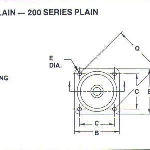 100 Series Plain Platform Mount