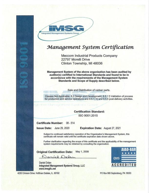 ISO-CERT-2020